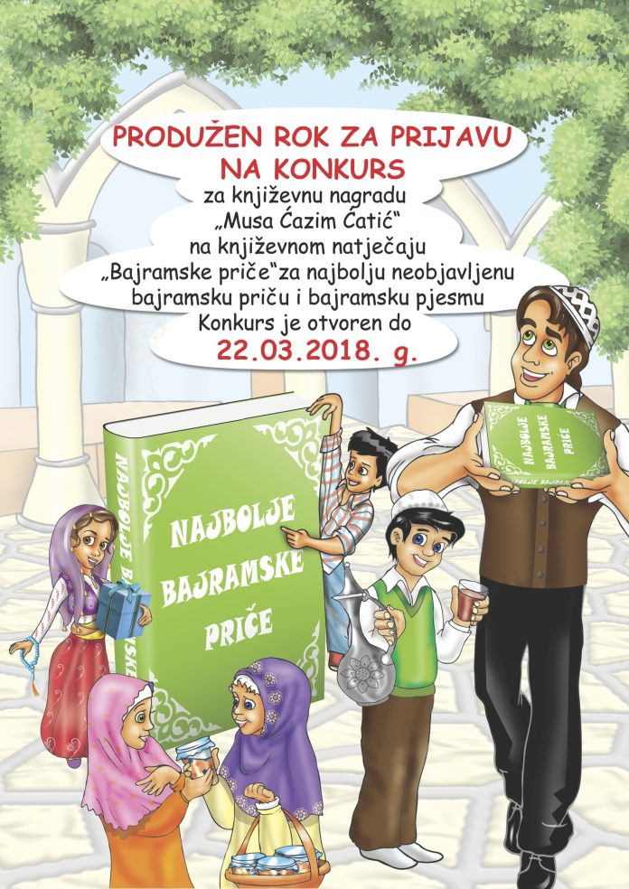 """Produžen rok za prijavu """"Bajramske priče""""!"""